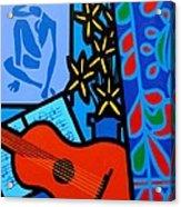 Homage To Matisse I  Acrylic Print