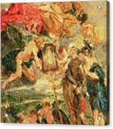 Homage To Rubens Acrylic Print