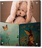 Home For A Bunny 1 Acrylic Print