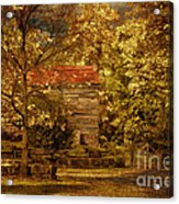 Home For Thanksgiving Acrylic Print