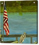 Home For The 4th Acrylic Print