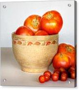 Home Grown Tomatoes II Acrylic Print