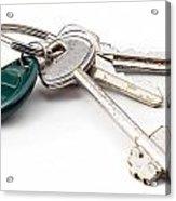 Home Keys Acrylic Print