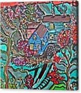 Home Acrylic Print by Matthew  James