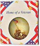 Home Of A Veteran Acrylic Print