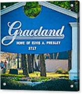 Home Of Elvis Acrylic Print