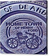 Home Of Henry Ford Acrylic Print