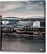 Home Of The Bengals Acrylic Print