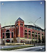 Home Of The Texas Rangers Acrylic Print