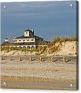 Home On The Beach Acrylic Print