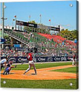 Home Run Or Struck Out Acrylic Print