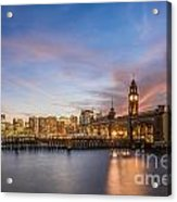 Home To Hoboken Acrylic Print
