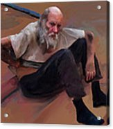 Homeless 3 - A Place To Rest Acrylic Print