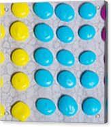 Homemade Candy Dots Acrylic Print