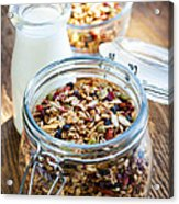 Homemade Toasted Granola Acrylic Print