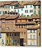 Homes In Cortona Acrylic Print