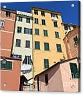 homes in Sori - Italy Acrylic Print