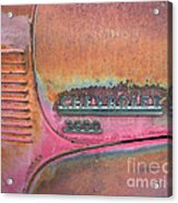 Homestead Chev Acrylic Print by Jerry McElroy