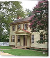 Homestead In Colonial Williamsburg Acrylic Print