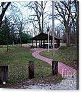 Homewood Izzak Walton Pavilion - Fall Acrylic Print