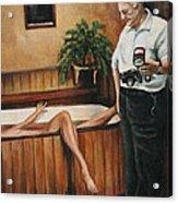 Homicide Photographer  Acrylic Print
