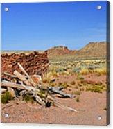Homolovi Ruins State Park Arizona Acrylic Print by Christine Till