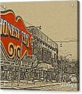 Honest Eds On Markham Street Acrylic Print