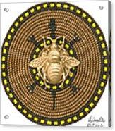 Honey Bee Turtle Acrylic Print