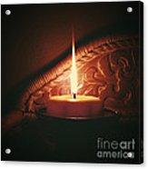 Honey Fire Acrylic Print
