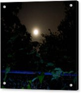 Honey Moon In New Orleans On Friday The 13th Acrylic Print by Louis Maistros