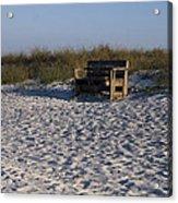 Honeymoon Island Beach Acrylic Print
