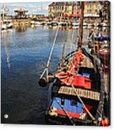 Honfleur Harbor  Acrylic Print