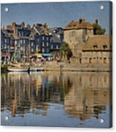 Honfleur In Normandy France Acrylic Print