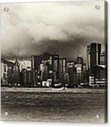 Hong Kong Bay Acrylic Print