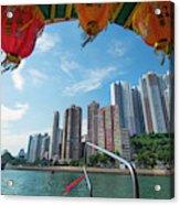 Hong Kong, China Acrylic Print