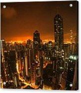 Hong Kong Gotham Acrylic Print