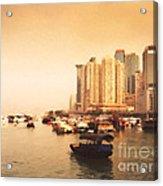 Hong Kong Harbour 02 Acrylic Print