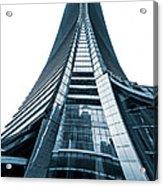 Hong Kong Icc Skyscraper Acrylic Print