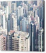 Hong Kong Suburbs Acrylic Print