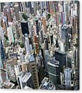 Hong Kong's Density Acrylic Print by Lars Ruecker