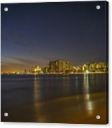 Honolulu Evening Acrylic Print