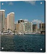 Honolulu Hi Acrylic Print