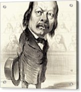 Honoré Daumier French, 1808 - 1879, Ferdinand Flocon Acrylic Print