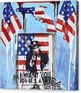 Honor The Brave Acrylic Print