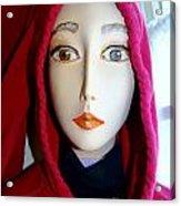 Hoodie Chic Acrylic Print