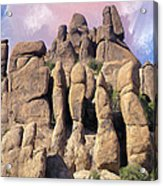 Hoodoo In The Superstition Mountains Acrylic Print