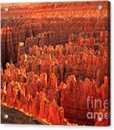 Hoodoos Basin Acrylic Print