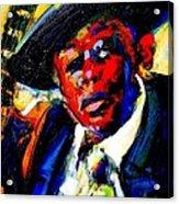 Hooker Acrylic Print