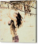 Hoop Dancer  Acrylic Print