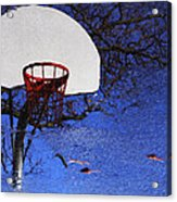 Hoop Dreams Acrylic Print by Jason Politte